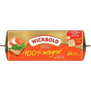 Torrada Wickbold 100% Integral 140g