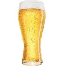 Copo de Vidro Budweiser 463840 Globimport 400ml