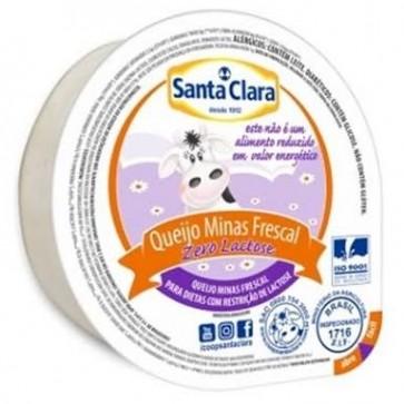 Queijo Minas Frescal Z.Lactose Santa Clara 300g