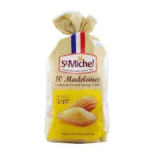 Biscoitos Madeleines Traditional French Sponge Cakes 250g