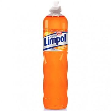 Detergente líquido Louça  Tangerina Limpol 500ml