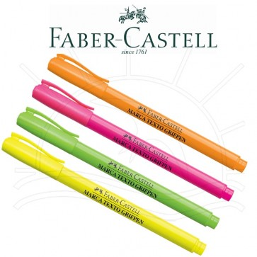 Marca Texto C/ 4 cores  Faber Castell