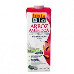 Bebida Arroz com Amendoas Isola Bio 1L