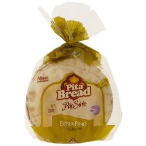 Pão Sírio Extra Fino Pita Bread 320g