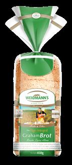 Pão Graham Brot Weidmann's 450g