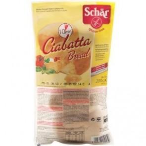 Ciabatta Bread Schar 200g