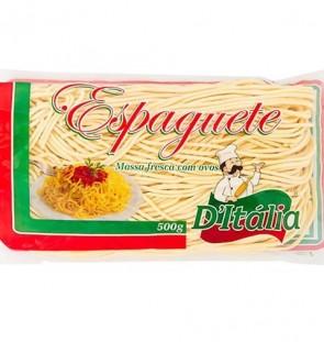 Massa Espaguete Massa Fresca com Ovos D'Itália 500g