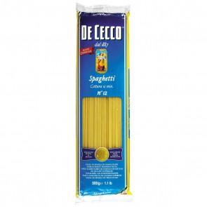 Massa Spaghetti n. 12 De Cecco 500g