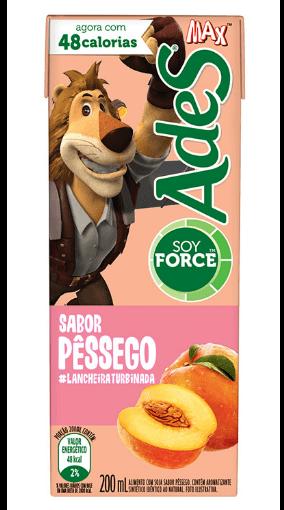 Suco Max Pessêgo Ades 200ml
