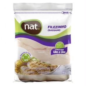 Filézinho de Frango (sassami) Congelado IQF NAT 1kg