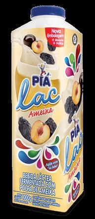 Iogurte Ameixa Piá Lac 1L
