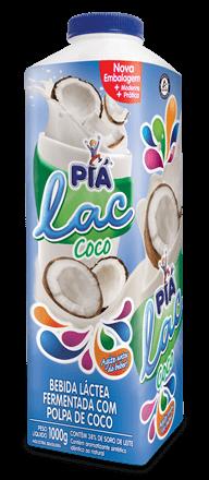 Iogurte Coco Piá Lac 1L