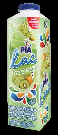 Iogurte Frutas Verdes Piá Lac 1L