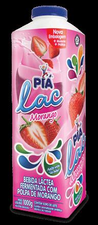 Iogurte Morango Piá Lac 1L