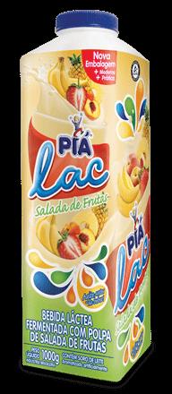 Iogurte Salada de Frutas Piá Lac 1L