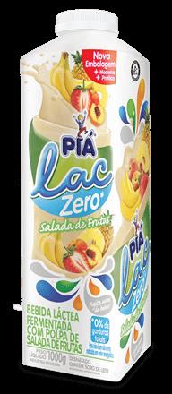 Iogurte Zero Salada de Frutas Piá Lac 1L