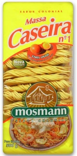 Massa Caseira n°2 Mosmann 500g