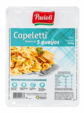 Capeletti 5 Queijos Pavioli 250g