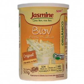 Leite em Pó BioV Arroz + Cálcio Original Jasmine 300g