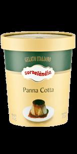 Sorvete Panna Cotta Sorvelândia 950ml
