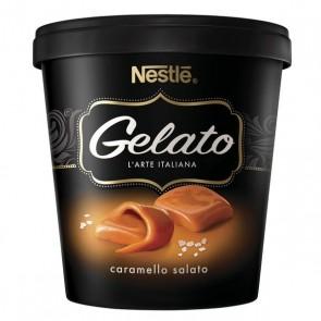 Sorvete Gelato Caramello Salato Nestle 455ml