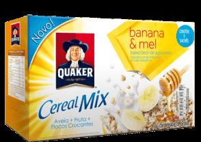 Cereal Mix Banana e Mel Quaker 150g
