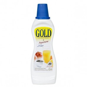 Adoçante Aspartame Gold 65ml