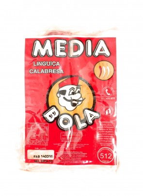 Linguiça Calabresa Média Bola 280g