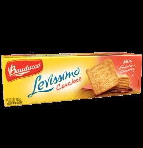 Biscoito Levíssimo Cracker Bauducco 200g