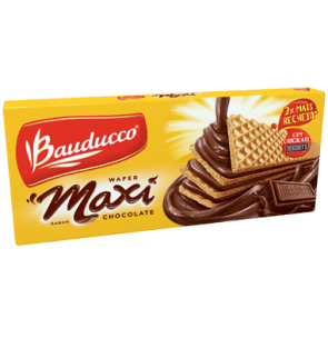 Wafer Maxi Chocolate Bauducco 130g