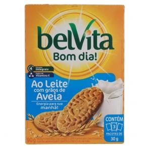 Biscoito ao Leite com Grãos de Aveia Belvita 75g