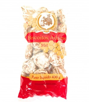 Biscoitos Adams Mel 400g