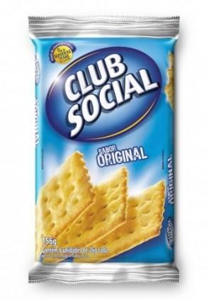 Biscoito Oirginal Club Social 156g
