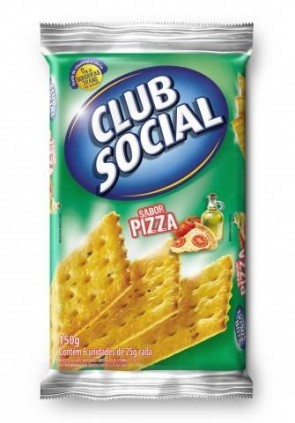 Biscoito Pizza Club Social 150g