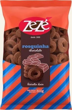 Rosquinha Chocolate Zezé 300g