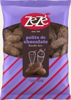 Biscoito Palito de Chocolate Zezé 300g