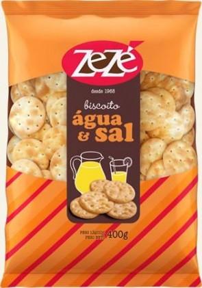 Biscoito Água e Sal Zezé 300g