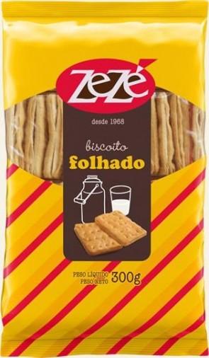 Biscoito Folhado Zezé 300g