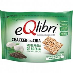 Biscoito Cracker com Chia Mussarela de Búfala eQlibri 40g