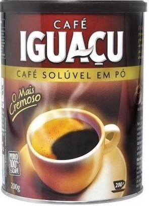 Café Solúvel em Pó Tradicional Iguaçu 200g