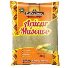 Açúcar Mascavo Colônia 500g