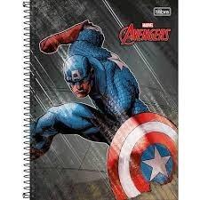 Caderno 1m Avenger 96f  Tilibra