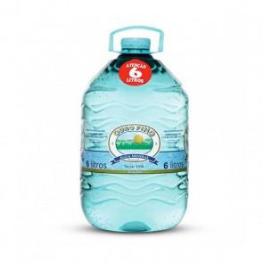 Água Ouro Fino sem gás 6 litros