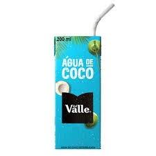 Aguá de Coco Del Valle 200ml