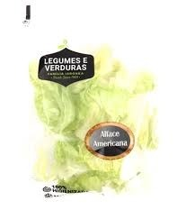 Alface Americana Higienizada Iaronka  150g