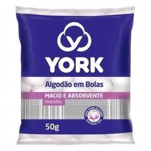 Algodão York Em Bola 50g