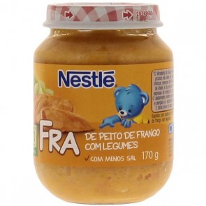 alimento infantil nestlê peito de frango c/ legumes