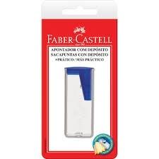 Apontador c/ deposito Faber Castel