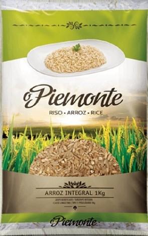 Arroz Parbolizado Integral O Piemonte 1 kg