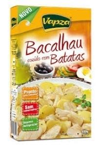 Bacalhau com Batatas Embalado à Vácuo Vapza 400g